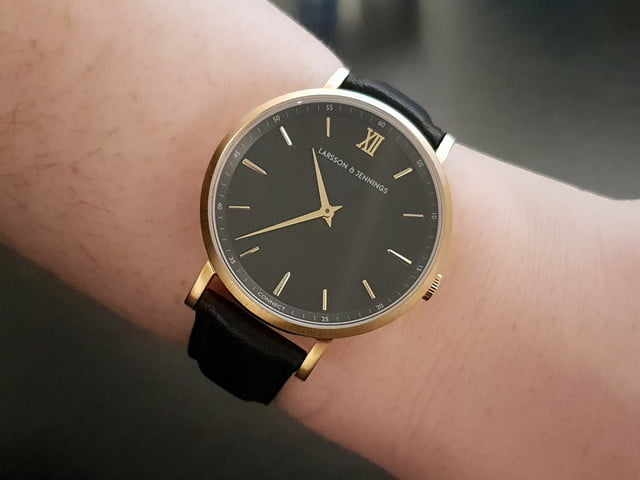 26b9f49bae6f6 The Super Thin Larsson   Jennings Connect Is A Subtle Hybrid Watch ...