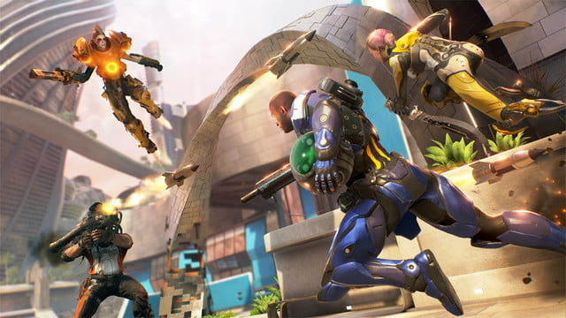 LawBreakers Review blitzball