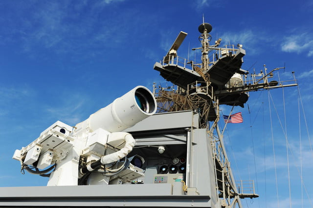 navy tests laser weapon system uss ponce laws7