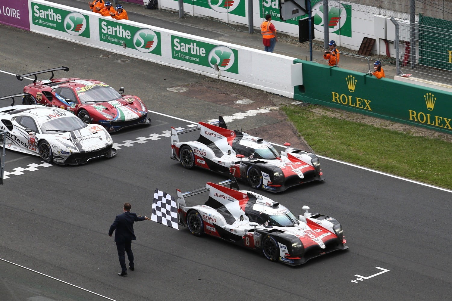 Toyota Wins 2018 24 Hours Of Le Mans