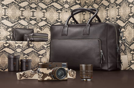 Leica and Lenny Kravitz team up again for special-edition snakeskin rangefinder
