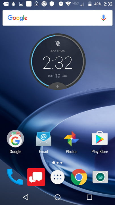 Lenovo Moto Z and Z Force Screenshot