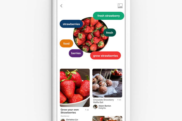 pinterest adds food search features lens recipe results  still