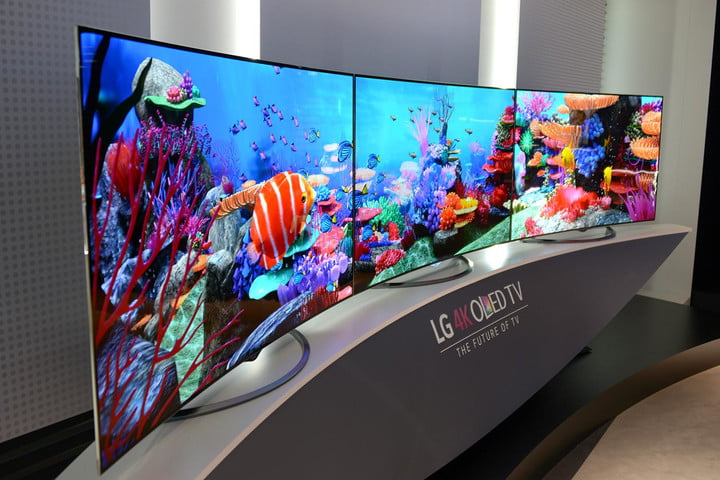 Lgs 4kuhd Oled Tvs Will Cost 10k Plus Digital Trends