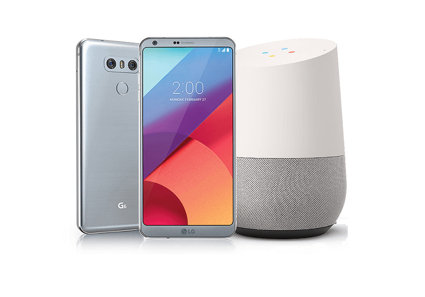 buy new lg g6 get google home device and