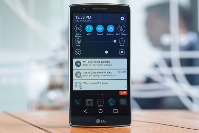 LG G Flex2 settings