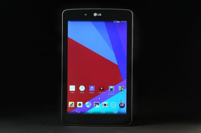 LG G Pad 7.0 front home