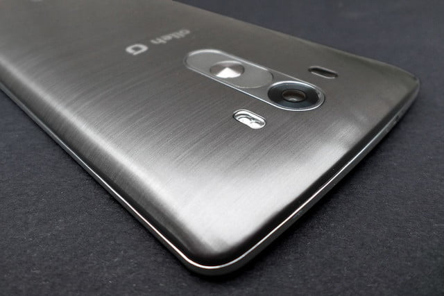 LG G3 work review top back angle