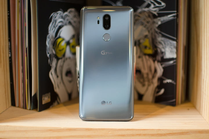 lg g7 news thinq hands on back shelf