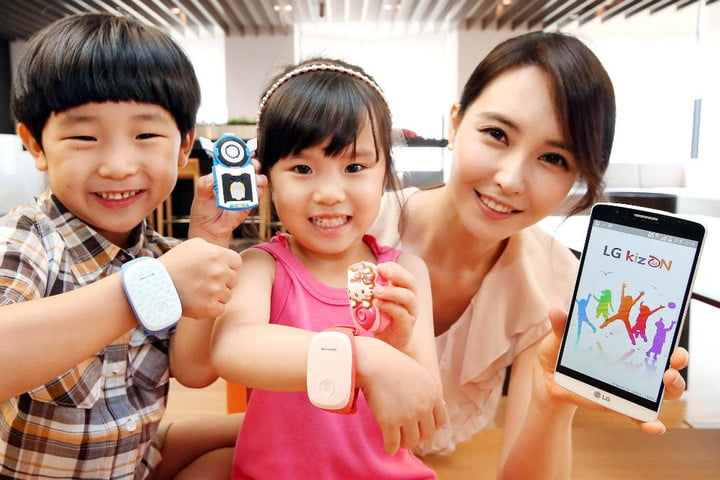 LG launches KizON, a wearable device that lets parents track their kids