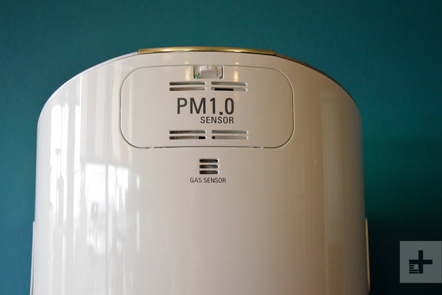 LG Puricare air purifier review back