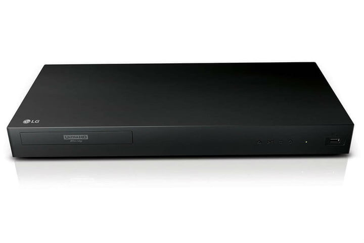 best blu ray players lg up870 formatted
