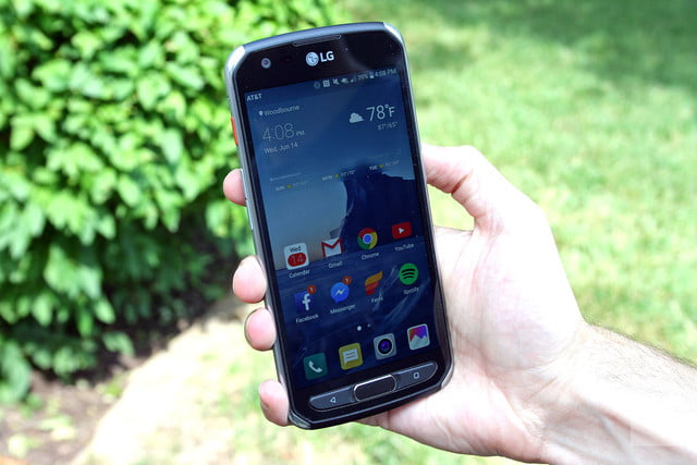 buy popular a6b6f 489ba LG X Venture Review | Rugged Android Smartphone | Digital Trends