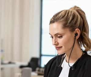 Headphones so smart, they let in more sound when you're on the move