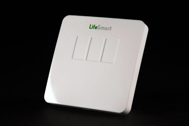 Lifesmart security system sensor front angle