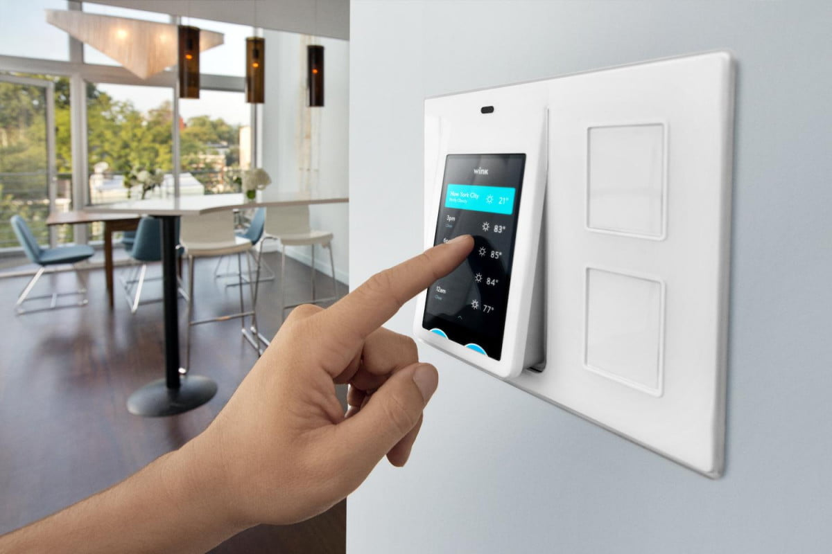 Wink Releases Relay A Smart Home Control Panel Digital