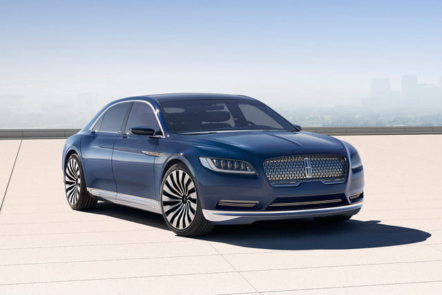 top 5 concept cars of 2015 opinion pictures specs lincolncontinentalconcept 01 front