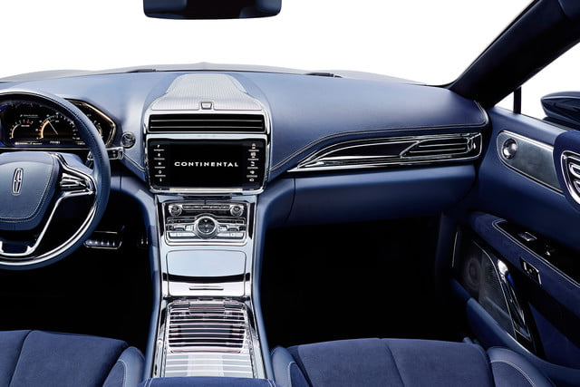 top 5 concept cars of 2015 opinion pictures specs lincolncontinentalconcept 07 interior b