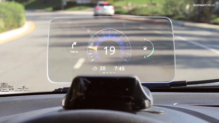 hudway drive heads up display hands on review live 2