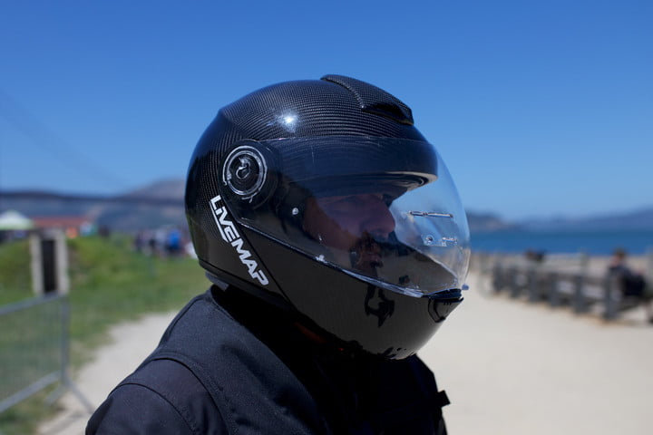 cd45b5c0e9df Livemap Brings Improved Design to its AR Motorcycle Helmet