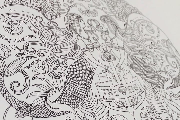 Intricate Coloring Pages For Adults : Forget tech pick up an adult coloring book digital trends