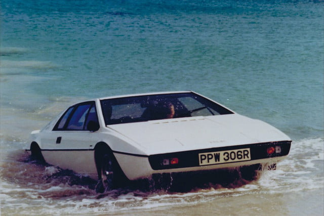 all time wackiest james bond cars lotus esprit s1  the spy who loved me 1977