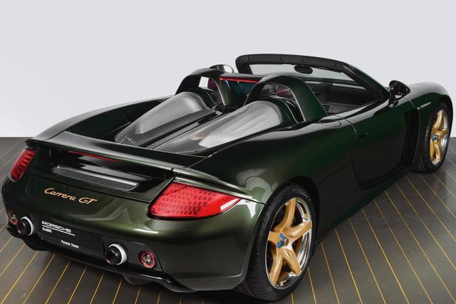 porsche carrera gt supercar gets 39 recommissioned 39 by the. Black Bedroom Furniture Sets. Home Design Ideas