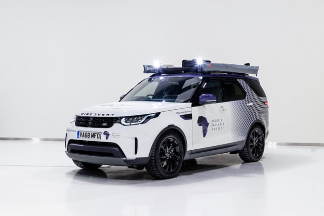 This modified Land Rover Discovery is heading to Africa to help fight malaria
