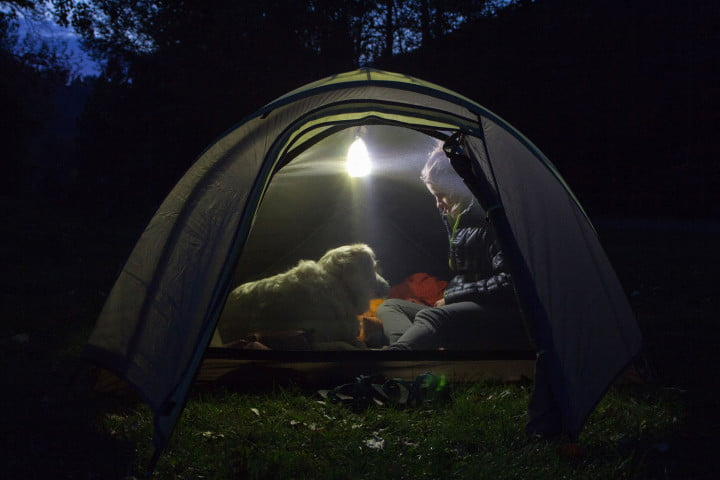 the luminoodle is a portable led light strip tent lantern mode & The Luminoodle is an LED light strip you can take anywhere