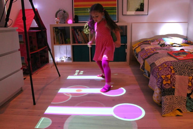 Lumo Is A Projector That Turns Your Floor Into Games Digital Trends