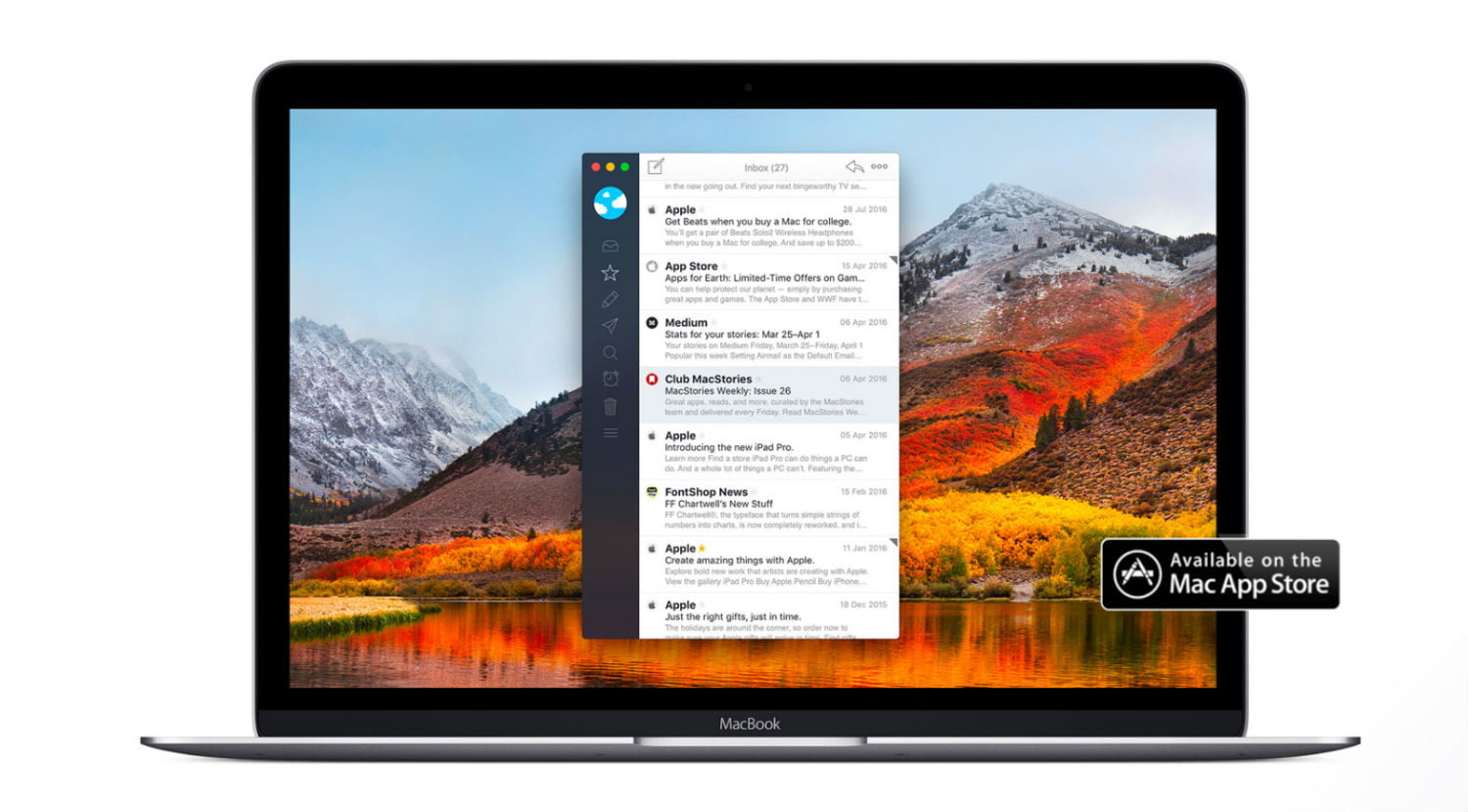 best email clients mac airmail2