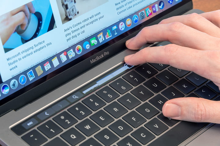 macbook pro 13 inch with touch bar review why we can 39 t recommend it digital trends