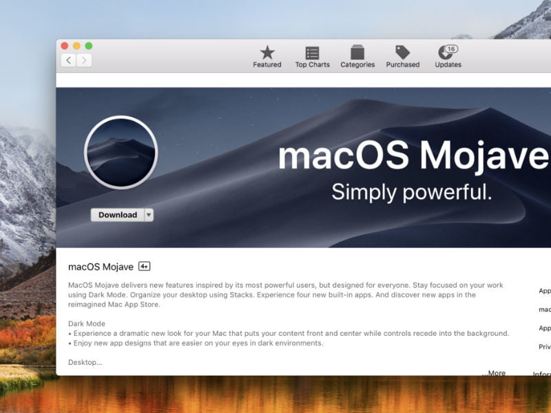 MacOS Mojave: How to Install the Free Update | Digital Trends