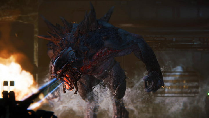Making of Evolve screenshot Breathing Fire 0008
