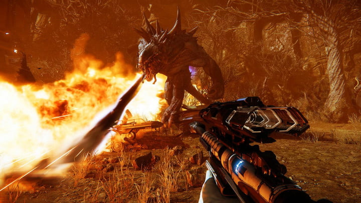 Making of Evolve screenshot In The Crosshairs 0009