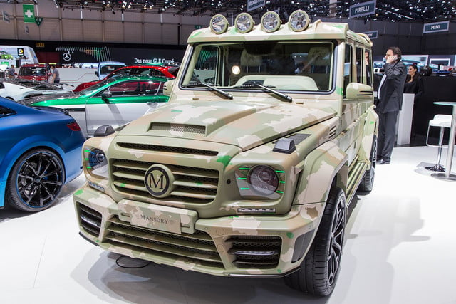 mansory g wagen sahara edition pictures and specs wagon 4
