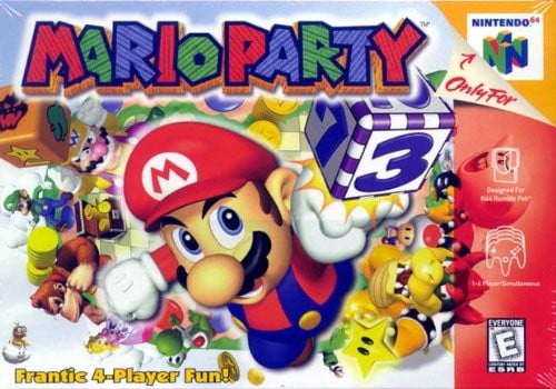 best n64 games mario party cover