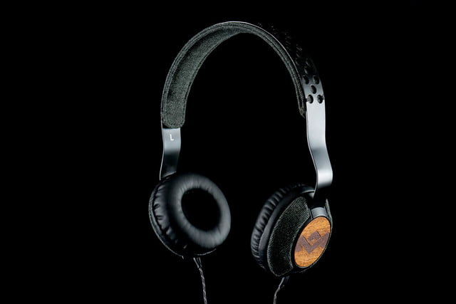 Marley headphones front angle