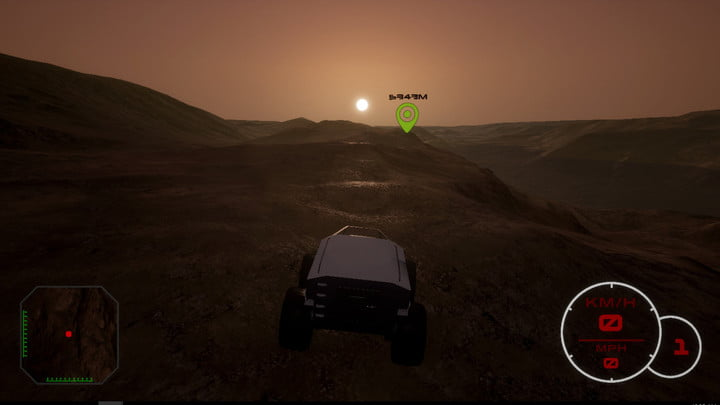 Mars Exploration Simulator Red Rover