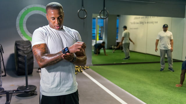 Marshawn Lynch Marcus Peters Pro:Test Wearables