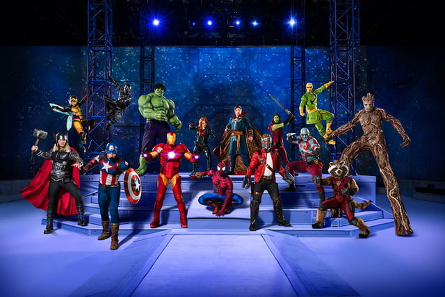 marvel universe live circus age of heroes on stage 1
