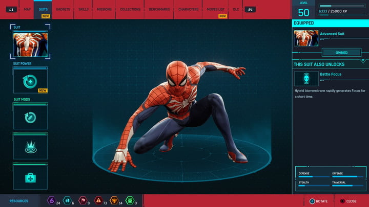 marvels spider man ps4 how to unlock every suit marvel s 20181213103342