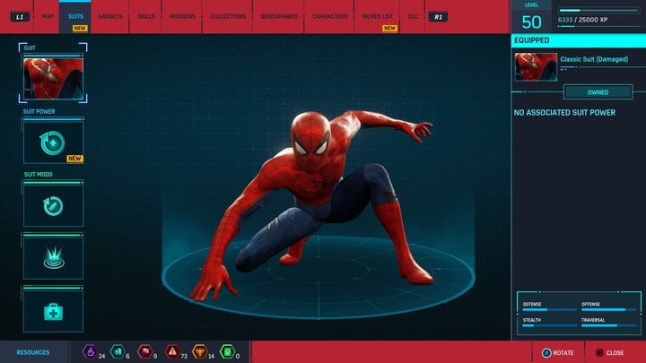 marvels spider man ps4 how to unlock every suit marvel s 20181213103348