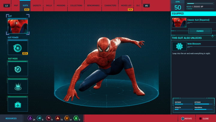 marvels spider man ps4 how to unlock every suit marvel s 20181213103354