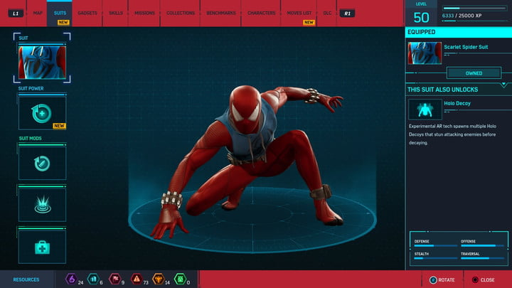 marvels spider man ps4 how to unlock every suit marvel s 20181213103409