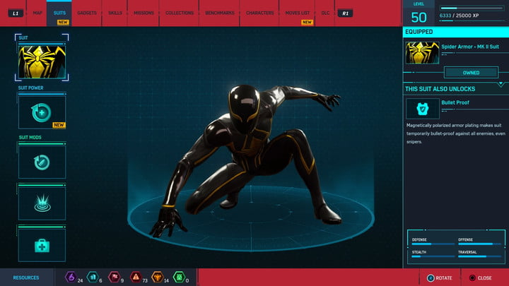 marvels spider man ps4 how to unlock every suit marvel s 20181213103416