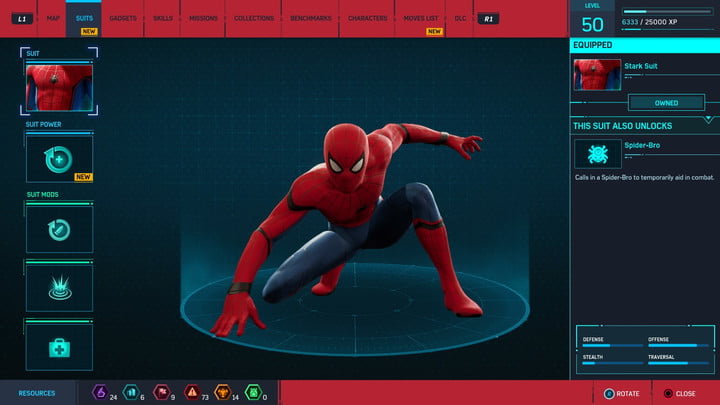 marvels spider man ps4 how to unlock every suit marvel s 20181213103428