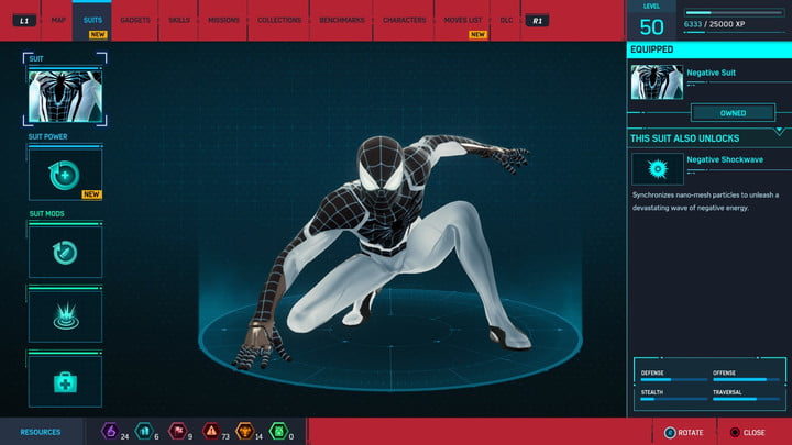 marvels spider man ps4 how to unlock every suit marvel s 20181213103434
