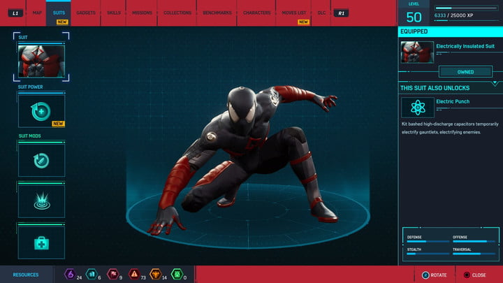 marvels spider man ps4 how to unlock every suit marvel s 20181213103440