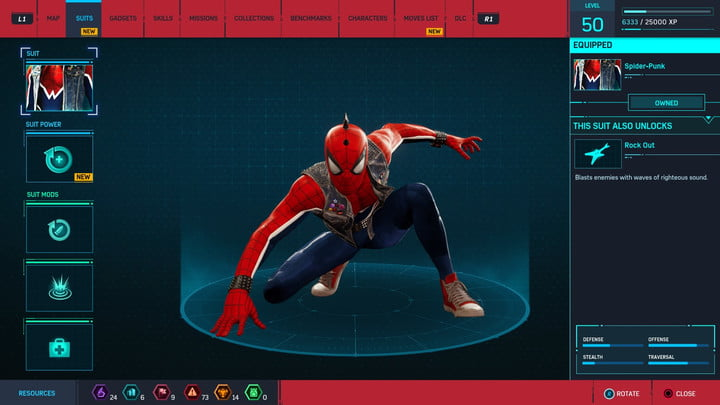 marvels spider man ps4 how to unlock every suit marvel s 20181213103446